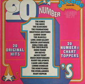 Cover - Jackie Trent: 20 Number 1's