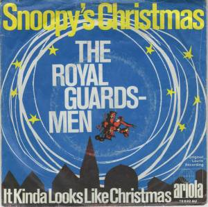 Cover - Royal Guardsmen, The: Snoopy's Christmas