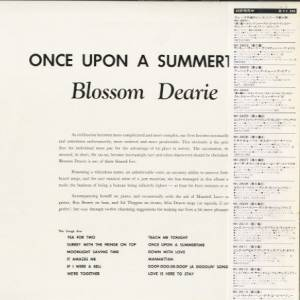 Blossom Dearie Once Upon A Summertime