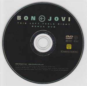 Bon Jovi: This Left Feels Right (CD + DVD) - Bild 4