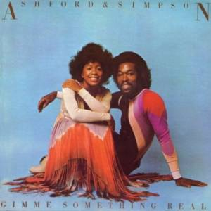 Cover - Ashford & Simpson: Gimme Something Real