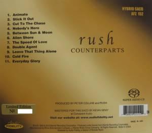 Rush flac Rush Counterparts sacd