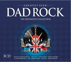 Greatest Ever Dad Rock - Cover