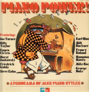 Piano Power! / A Panorama Of Jazz Piano Styles - Cover