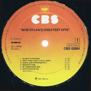 Bob Dylan: Bob Dylan's Greatest Hits (LP) - Bild 4