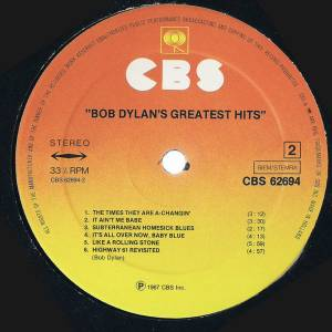 Bob Dylan: Bob Dylan's Greatest Hits (LP) - Bild 5