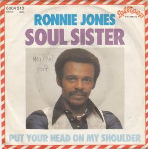 Cover - Ronnie Jones: Soul Sister
