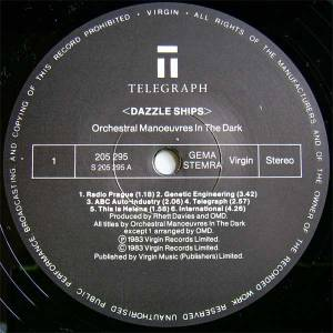Orchestral Manoeuvres In The Dark: Dazzle Ships (LP) - Bild 3