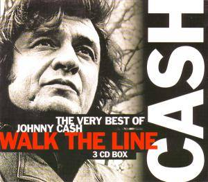 Johnny Cash: Walk The Line - The Very Best Of Johnny Cash (3-CD) - Bild 1