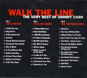 Johnny Cash: Walk The Line - The Very Best Of Johnny Cash (3-CD) - Bild 2