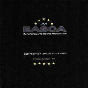Cover - Eugene Ruffolo: EASCA - Competition Evaluation Disc 2009