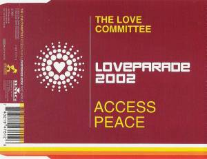 Cover - Love Committee, The: Access Peace