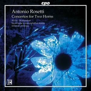 Cover - Antonio Rosetti: Concertos For Two Horns