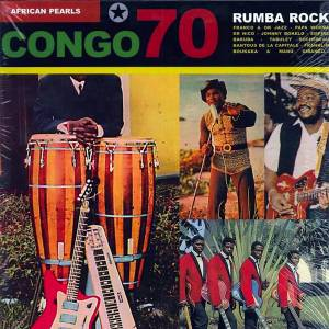 Cover - Tabu Ley Rochereau: African Pearls - Congo 70 : Rumba Rock