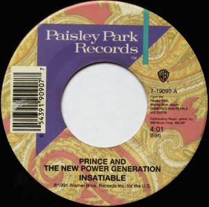 Cover - Prince & The New Power Generation: Insatiable