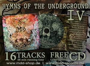 Cover - Raw: Hymns Of The Underground IV