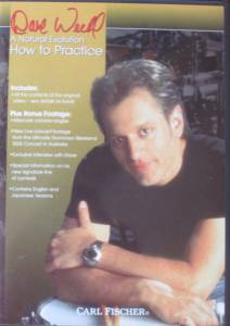 Cover - Dave Weckl: Natural Evolution How To Practice, A
