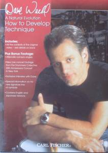 Cover - Dave Weckl: Natural Evolution How To Develop Technique, A