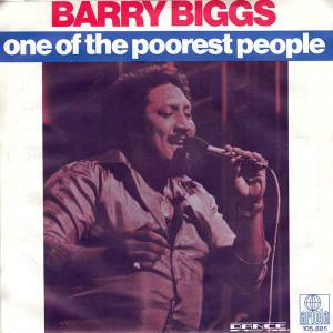 Barry Biggs: One Of The Poorest People - Cover