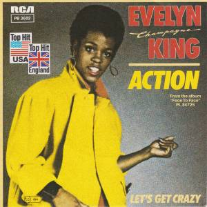 Cover - Evelyn King: Action