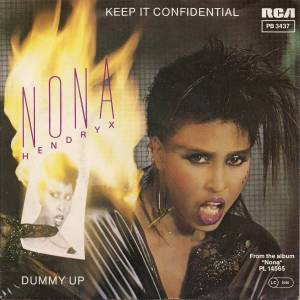 "Nona Hendryx: Keep It Confidential (7"") - Bild 1"
