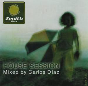 Cover - Aaron Carl: Zenith Ibiza - House Session