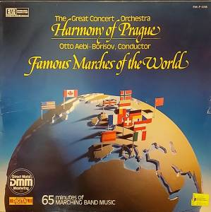 Cover - Carl Teike: Famous Marches Of The World