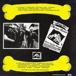 Die Toten Hosen: Unter Falscher Flagge Tour - Bis Zum Bitteren Ende Vol. 2 (LP) - Bild 2