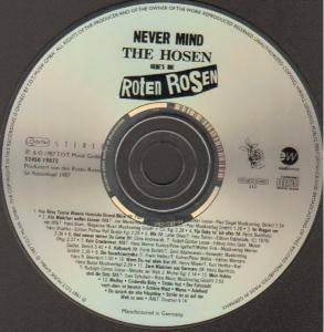 Die Roten Rosen: Never Mind The Hosen - Here's Die Roten Rosen (CD) - Bild 2