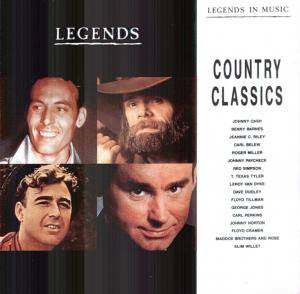Legends In Music - Country Classics - Cover