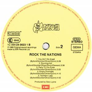 Saxon: Rock The Nations (LP) - Bild 5