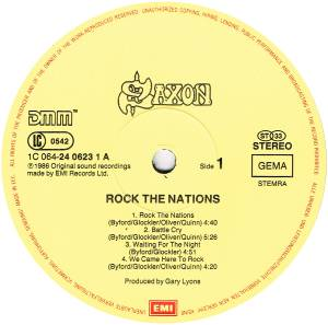 Saxon: Rock The Nations (LP) - Bild 6