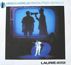 "Laurie Anderson: Language Is A Virus From Outer Space (12"") - Bild 1"