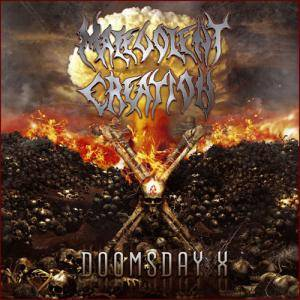 Malevolent Creation: Doomsday X - Cover