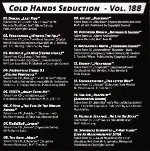 Various - Sonic Seducer Cold Hands Seduction Vol. 48