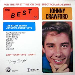 Johnny Crawford: Best Of Johnny Crawford, The - Cover