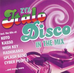 Zyx Italo Disco In The Mix - Cover