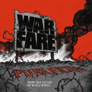 Cover - Warfare: Pure Filth - From The Vaults Of Rabid Metal