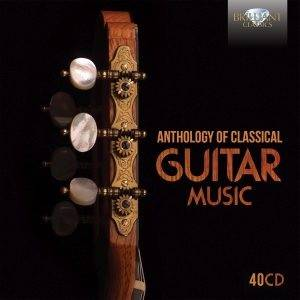 Cover - Alexandre Tansman: Anthology Of Classical Guitar Music