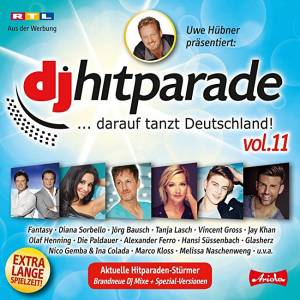Cover - Glasherz: DJ Hitparade Vol. 11