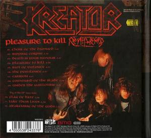 Kreator: Pleasure To Kill (CD) - Bild 2