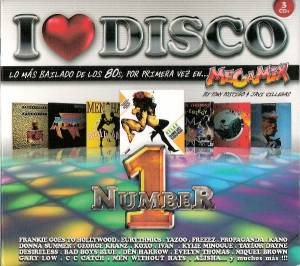 Cover - Koxo: I Love Disco 80s Number 1 Megamix