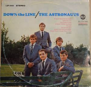 Cover - Astronauts, The: Down The Line