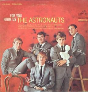 Cover - Astronauts, The: For You, From Us