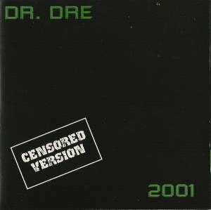 Cover - Dr. Dre: 2001 - Censored Version