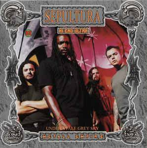 Sepultura: Under A Pale Grey Sky - Cover