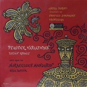 Cover - Zoltán Kodály: Peacock-Variations / Suite From The Miraculous Mandarin