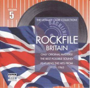 Rockfile Britain - Volume 5 - Cover