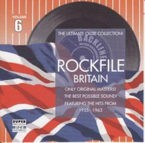 Rockfile Britain - Volume 6 - Cover