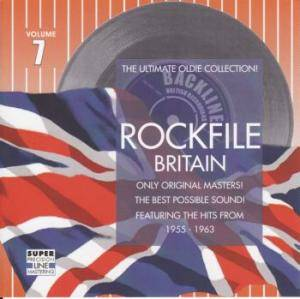 Rockfile Britain - Volume 7 - Cover